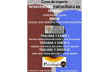 Curso de Experto en intervención psicológica en trauma