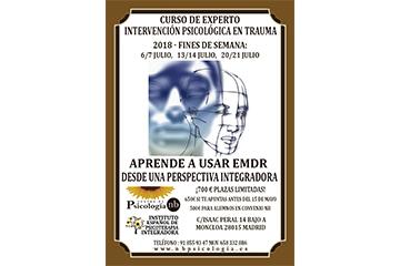 CURSO DE EXPERTO INTERVENCIÓN PSICOLÓGICA EN TRAUMA