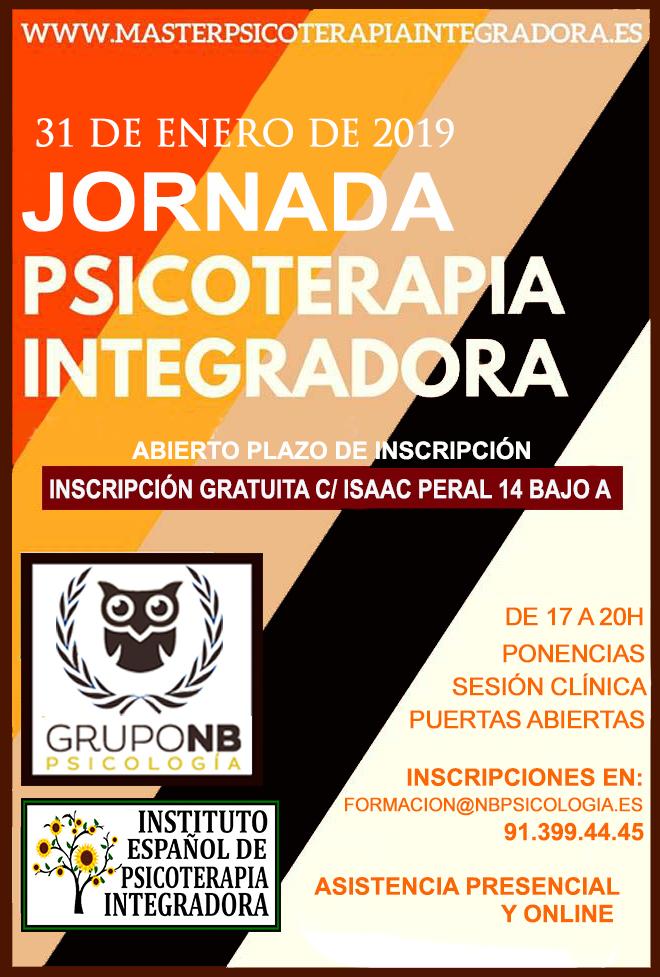 El Grupo Nb Psicología tiene el placer de anunciar una nueva Jornada de puertas Abiertas del Instituto Español de Psicoterapia Integradora